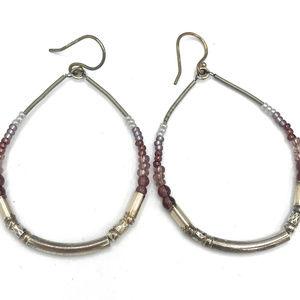 W2771 Silpada PURPLE PANACHE Earrings (b)